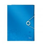 Organizér na dokumenty Leitz WOW Metalická modrá  DOPRODEJ!!!