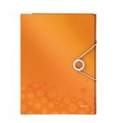 Organizér na dokumenty Leitz WOW Metalická oranžová  DOPRODEJ!!!