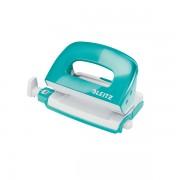 Mini děrovačka Leitz NeXXt WOW 5060 10 listů Ledová modrá