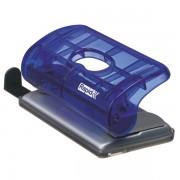 Mini děrovačka Rapid FC5 10 listů Transparentní tmavě modrá
