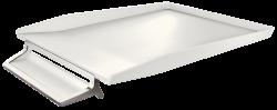 Odkladač s přihrádkou na pero Leitz Style Arkticky bílá