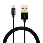 Lightning na USB kabel Leitz Complete, 1 m Černá