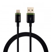 Lightning na USB kabel Leitz Complete XL, 2 m Černá