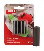 Inkoustový válec pro etiketovací kleště APLI 2-řádkové Černý 1ks