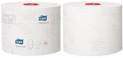 Toaletní papír Tork Mid-Size 127530 2-vrstvý 27 rol. T6 bílá