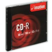 CD-R Imation 52x 700MB 10 ks Jewel Silver DOPRODEJ!!!