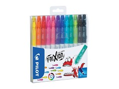 Fix Pilot FriXion Colors 2,5mm sada 12 barev