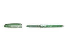 Roller gel. Pilot Frixion Point zelený jehličkový hrot F