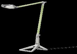 Lampa stolní Leitz Style LED Zelenkavá