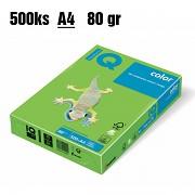 Papír IQ Color barevný A4 80g jarní zelená MA42