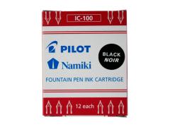Náplň do plnicích per Pilot Capless černá