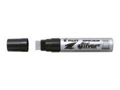 Popisovač lakový Pilot Super Color Jumbo 3,0 - 17,0mm stříbrný