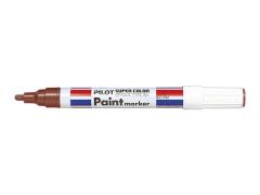 Popisovač lakový Pilot Paint Marker 2,0 mm hnědý
