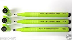 Pero kaligrafické Pilot Lettering Pen 3,0 mm černá