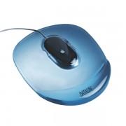 Podložka pod myš Crystal Transparentní modrá