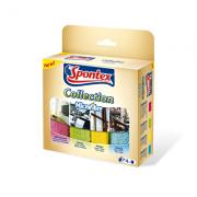 Mikroutěrka  SPONTEX Collection Microfibre sada 4 kusy