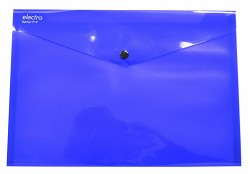 Kapsa s patentkou Electra A4 tmavě modrá