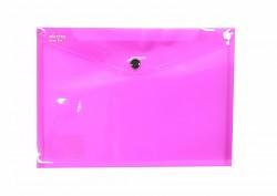Kapsa s patentkou Electra A5 růžová