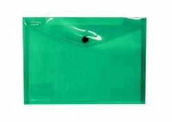 Kapsa s patentkou Electra A5 zelená