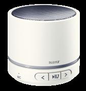 Přenosný mini Bluetooth reproduktor s mikrofonem Leitz WOW šedo-bílý