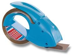 Ruční odvíječ balicí pásky TESA Pack-n-Go s páskou 48mm x 50m modrý