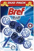 Osvěžovač WC Bref Blue-Aktiv Duo Pack 2 kusy