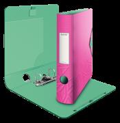 Mobilní pořadač Leitz 180° Urban Chic růžová 65mm