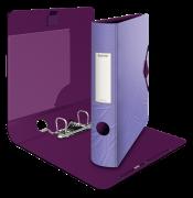 Mobilní pořadač Leitz 180° Urban Chic fialová 65 mm