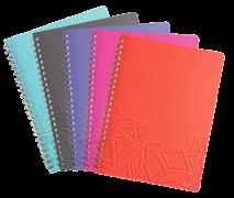 Blok na psaní Leitz Urban Chic Notebook A4 linka mix barev DOPRODEJ!!