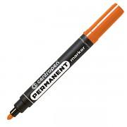 Popisovač perm. Centropen 8566 2,5 mm kulatý hrot oranžový