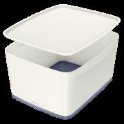 Úložný box s víkem Leitz MyBox®, velikost M bílý
