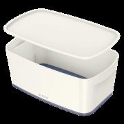 Úložný box s víkem Leitz MyBox®, velikost S bílý