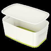 Úložný box s víkem Leitz MyBox®, velikost S zelený
