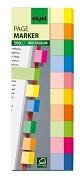 Samolepící papírová záložka Sigel 15x50 mm 10 barev á 50ks