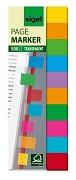 Samolepící plastová záložka Sigel 12,5x44 mm 10 barev á 50ks