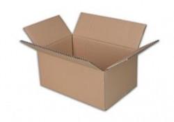 Krabice kartonová klopová 5VL 600x400x300 mm hnědá