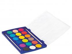 Vodové barvy COLORINO extra velké 18 barev + 2 štětce
