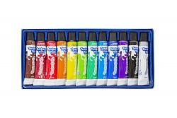 Temperové barvy COLORINO v tubě 12 barev 12ml