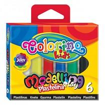 Modelovací hmota COLORINO 6 barev