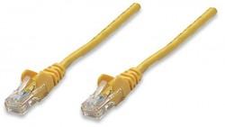 Kabel UTP patch Intellinet, Cat5e drát, 300 m žlutý