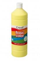 Temperová barva CREALL školní 1000ml světle žlutá