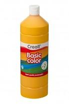 Temperová barva CREALL školní 1000ml tmavě žlutá