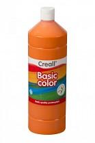 Temperová barva CREALL školní 1000ml oranžová