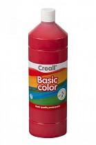 Temperová barva CREALL školní 1000ml tmavě červená