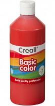 Temperová barva CREALL školní 1000ml základní červená