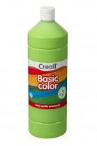 Temperová barva CREALL školní 1000ml světle zelená