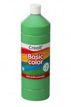 Temperová barva CREALL školní 1000ml středně zelená