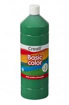 Temperová barva CREALL školní 1000ml tmavě zelená