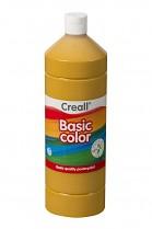 Temperová barva CREALL školní 1000ml okrová