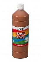 Temperová barva CREALL školní 1000ml světle hnědá